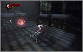 Podążaj za śladami i po drodze zabijaj wszystkich przeciwników - The Escape - Rozdział 1 Origins - X-Men Origins: Wolverine - poradnik do gry