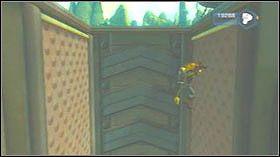 Zabij przeciwników, wejdź do pomieszczenia i wskocz na górę odbijając się od ściany - Gelatonium Plant, Plantet Cobalia - Opis przejścia - Ratchet & Clank: Tools of Destruction - poradnik do gry
