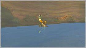 Teraz wróć do początku poziomu - Lombax Ruins, Planet Fastoon - Opis przejścia - Ratchet & Clank: Tools of Destruction - poradnik do gry