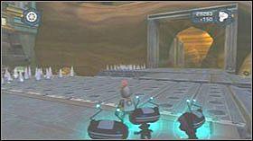 Następnie wejdź do pomieszczenia i dzięki Zoni napraw windę - Lombax Ruins, Planet Fastoon - Opis przejścia - Ratchet & Clank: Tools of Destruction - poradnik do gry
