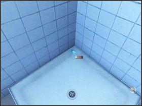 Na umywalce w �azience znajdujemy wyblak�y �lad krwi, kt�ry zosta� usuni�ty detergentem - Rozdzia� II - McPherson - Opis Przej�cia - Still Life 2 - poradnik do gry