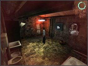 Po przeciwnej stronie pokoju znajdujemy dzwoni�cy telefon kom�rkowy (charge cell phone) #1 - Rozdzia� III - Paloma (cz.1) - Opis Przej�cia - Still Life 2 - poradnik do gry