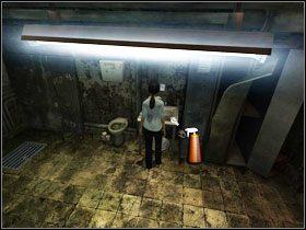 Z metalowej szafki #1 wyciągamy pusty spryskiwacz (empty spray) - Rozdział III - Paloma (cz.2) - Opis Przejścia - Still Life 2 - poradnik do gry