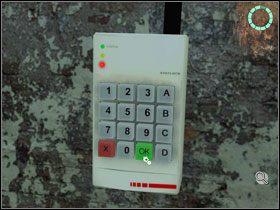 W tym momencie przydadz� si� informacje skopiowane przez Palom� z karty pami�ci w pierwszym pomieszczeniu - Rozdzia� III - Paloma (cz.2) - Opis Przej�cia - Still Life 2 - poradnik do gry