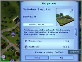 072 - Kupno działki z domem - Dom Sima - The Sims 3 - poradnik do gry