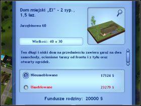 073 - Kupno działki z domem - Dom Sima - The Sims 3 - poradnik do gry