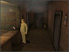 Wewnątrz porozmawiaj z siedzącym przy pierwszym stoliku dziennikarzem Tomem Bullingiem - [Opis przejścia] Whitechapel, 11 września 1888 - Sherlock Holmes kontra Kuba Rozpruwacz - poradnik do gry