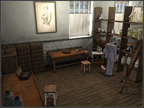 Zamieniwszy z Andrew parę zdań na temat handlu organami i dowiedziawszy się o zaginięciu z kostnicy pewnych zwłok, Watson pozostaje sam - [Opis przejścia] London Hospital, 12 września 1888 - Sherlock Holmes kontra Kuba Rozpruwacz - poradnik do gry