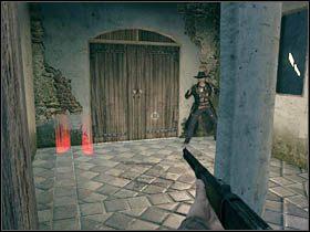 Gr� rozpoczynamy w barze i od razu od strzelaniny - Opis przej�cia (1) - Rozdzia� IV - Call of Juarez: Wi�zy Krwi - poradnik do gry