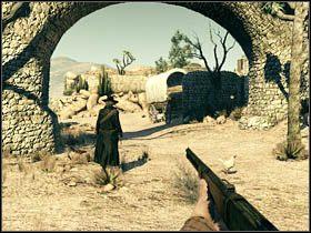 Po zwycięskiej walce obejdź budynek i podążaj za bratem - Opis przejścia (2) - Rozdział IV - Call of Juarez: Więzy Krwi - poradnik do gry