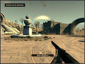 Idąc dalej dotrzesz na otwarty plac - Opis przejścia (2) - Rozdział IV - Call of Juarez: Więzy Krwi - poradnik do gry