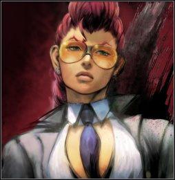 Część graczy uważa, że jest bardzo podobna do Cammy, ale przy bliższym kontakcie, okazuje się postacią znacznie lepszą - Crimson Viper - Postacie - Street Fighter IV - PC - poradnik do gry