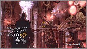 Możesz już skorzystać z pobliskich drzwi, prowadzących do strefy Main Hall - Arkham Mansion #2 - Opis przejścia - Batman: Arkham Asylum - poradnik do gry