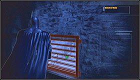W okolicy nie ma żadnych przeciwników, tak więc możesz się spokojnie rozejrzeć po okolicy - Intensive Treatment #2 (cz.1) - Opis przejścia - Batman: Arkham Asylum - poradnik do gry