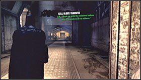 Musisz teraz zlokalizować pokazany na pierwszym screenie panel kontrolny - Intensive Treatment #2 (cz.1) - Opis przejścia - Batman: Arkham Asylum - poradnik do gry