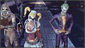 Przed Tobą trzecia już seria dziwacznych wizji będących dziełem Scarecrowa - Intensive Treatment #2 (cz.1) - Opis przejścia - Batman: Arkham Asylum - poradnik do gry