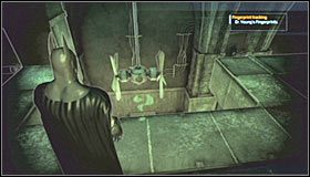 [#6] This fiendish puzzle literally appears out of thin air - Arkham Mansion (cz.3) - Sekrety - Batman: Arkham Asylum - poradnik do gry
