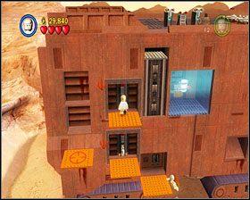 Niech obie postacie jednocześnie użyją dźwigni, a na dole wysunie się wejście do środka - Chapter 2 - Through the Jundland Wastes - Story Mode - Episode 4 - LEGO Star Wars: The Complete Saga - poradnik do gry
