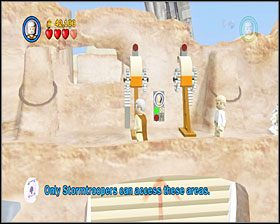 1 - Chapter 3 - Mos Eisley Spaceport - Story Mode - Episode 4 - LEGO Star Wars: The Complete Saga - poradnik do gry