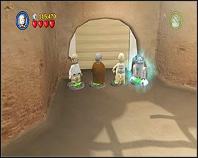 3 - Chapter 3 - Mos Eisley Spaceport - Story Mode - Episode 4 - LEGO Star Wars: The Complete Saga - poradnik do gry