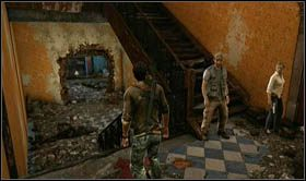 Nast�pnie zejd� zrujnowan� klatk� schodow� na d� budynku i wejd� do zniszczonego korytarza - Rozdzia� 7 Id� z nami - Opis przej�cia - Uncharted 2: Among Thieves - poradnik do gry