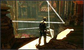 W ten spos�b wysuniesz k�adk� prowadz�c� na pocz�tek etapu - skorzystaj z niej i przygotuj si� na kolejna wspinaczk� - Rozdzia� 9 �cie�ka �wiat�o�ci - Opis przej�cia - Uncharted 2: Among Thieves - poradnik do gry
