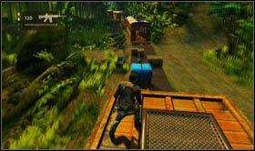 W ten sposób natkniesz się na pierwszego przeciwnika - Rozdział 13 Lokomotywa - Opis przejścia - Uncharted 2: Among Thieves - poradnik do gry