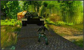 w okolice czołgu (zdradzę, że natkniesz się jeszcze na niego za kilka rozdziałów i nie będzie to miłe spotkanie) - Rozdział 13 Lokomotywa - Opis przejścia - Uncharted 2: Among Thieves - poradnik do gry