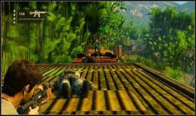 Kolejny wagon przyniesie z sobą walkę z trzema oprychami - Rozdział 13 Lokomotywa - Opis przejścia - Uncharted 2: Among Thieves - poradnik do gry
