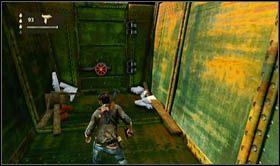 Po dotarciu do ostatniego, żeliwnego wagonu, pozbądź znajdujących się tam oponentów (dwóch) i podnieś leżącą przy wejściu wyrzutnie rakiet - Rozdział 13 Lokomotywa - Opis przejścia - Uncharted 2: Among Thieves - poradnik do gry