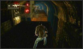 Następnie wejdź na ów wagon towarowy i przygotuj się na walkę z elementami zręcznościowymi - Rozdział 14 Światełko na końcu tunelu - Opis przejścia - Uncharted 2: Among Thieves - poradnik do gry