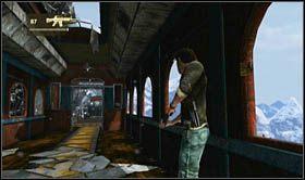 Niestety przeskakując do miejsca, gdzie jeszcze przed momentem stacjonował oponent, do akcji wkroczy helikopter - Rozdział 14 Światełko na końcu tunelu - Opis przejścia - Uncharted 2: Among Thieves - poradnik do gry