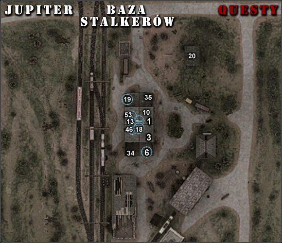 (mapy) - Jupiter - S.T.A.L.K.E.R.: Zew Prypeci - poradnik do gry