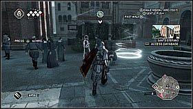Przemieszczamy si� do nowej dzielnicy Wenecji i kierujemy pod Santo Stefano - Sekwencja 8 (1) - Fabu�a - Assassins Creed II - PS3 - poradnik do gry