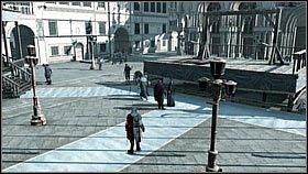 Za mostem wynajmujemy drug� grup� kobiet i ruszamy dalej - zajm� si� �o�nierzami po drodze - Sekwencja 8 (1) - Fabu�a - Assassins Creed II - PS3 - poradnik do gry