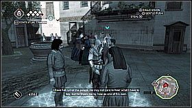 Oczywi�cie znowu wynajmujemy dziewczyny, by za rogiem odci�gn�y stra�nik�w - Sekwencja 8 (1) - Fabu�a - Assassins Creed II - PS3 - poradnik do gry