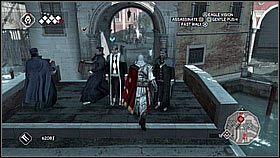 Wynajmujemy kurtyzany kawa�ek dalej - odci�gn� spor� grup� stra�nik�w - Sekwencja 8 (1) - Fabu�a - Assassins Creed II - PS3 - poradnik do gry