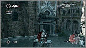 Schodzimy na ulic� i udajemy si� do pobliskiej bazyliki - Sekwencja 8 (1) - Fabu�a - Assassins Creed II - PS3 - poradnik do gry