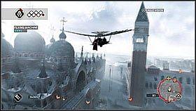 Na koniec zaczynamy wzbija� si� wy�ej wykorzystuj�c ostatnie ogniska [1] i wlatujemy do pa�acu - Sekwencja 8 (2) - Fabu�a - Assassins Creed II - PS3 - poradnik do gry