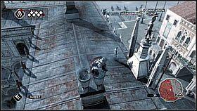 Znajdujemy si� na dachu i nie mo�emy zosta� wykryci - Sekwencja 8 (2) - Fabu�a - Assassins Creed II - PS3 - poradnik do gry