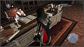 W pewnym momencie zabawy otrzymujemy dostęp do rodowej wilii Auditore , która pozwala zbierać pieniądze z turystyki - Wstęp - Ekonomia, sprzęt i walka - Assassins Creed II - PS3 - poradnik do gry