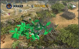 Przenie� pud�o na zielony punkt przy Karczowniku d�ungli [1] - Draka w lesie deszczowym - Kryszta�owa Czaszka Akt II - LEGO Indiana Jones 2: The Adventure Continues - poradnik do gry