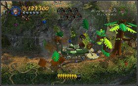 4 - Draka w lesie deszczowym - Kryszta�owa Czaszka Akt II - LEGO Indiana Jones 2: The Adventure Continues - poradnik do gry