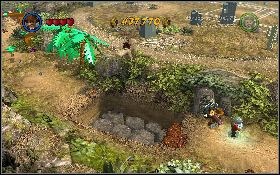Po zakończeniu misji udaj się bohaterami w lewo - Pojedynek z Dowczenką - Kryształowa Czaszka Akt II - LEGO Indiana Jones 2: The Adventure Continues - poradnik do gry