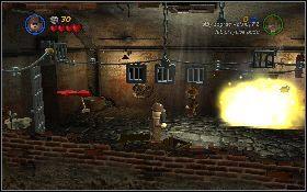 Aby rozpocząć ten etap zbierz drużynę, w której będą postacie z biczem i ładunkami wybuchowymi - Mania muzyczna (bonus) - Kryształowa Czaszka Akt II - LEGO Indiana Jones 2: The Adventure Continues - poradnik do gry