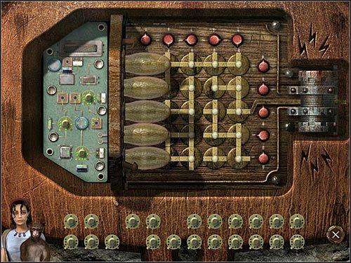 Do naprawy układu wykorzystaj części zabrane robotowi - Rozdział drugi (2) - Opis przejścia - Return to Mysterious Island 2 - poradnik do gry