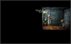 Kolejna scenka, na końcu której lądujemy w ciasnym pomieszczeniu - [Opis przejścia] Scena 05 - Machinarium - poradnik do gry