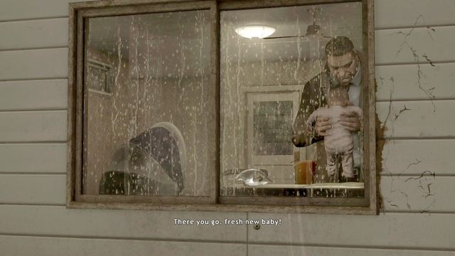 Po przewinięciu dziecka wracaj do sypialni pogadać z kobietą - Samobójczyni (Suicide Baby) | Opis przejścia Heavy Rain - Heavy Rain - poradnik do gry