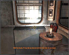 Po znalezieniu się w środku dobrze byłoby obrócić się i zbadać zawartość szafki znajdującej się po prawej stronie #1 - Market* - Opis przejścia - Rozdział 2 - Metro 2033 - poradnik do gry