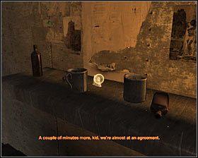 Jeśli chcesz, możesz obejrzeć bong znajdujący się na barowej ladzie #1 , co zaowocuje ciekawymi efektami wizualnymi - Market* - Opis przejścia - Rozdział 2 - Metro 2033 - poradnik do gry